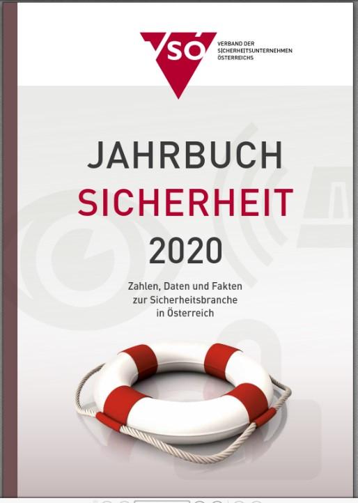 Titelseite VSÖ-Jahrbuch Sicherheit 2020